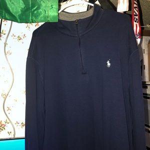 Navy Polo Ralph Lauren Half-Zip
